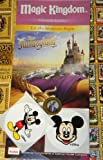 Disney Sorcerers Mask of the Magic Kingdom Sotmk Game Wdw Walt Disney World Exclusive Game Moon Card #48 Lumiere's Candle Blast Warrior Spell Map & Mickey Stickers