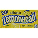 Ferrara Pan Lemonheads, 1.08 Ounce Package, 24 Count