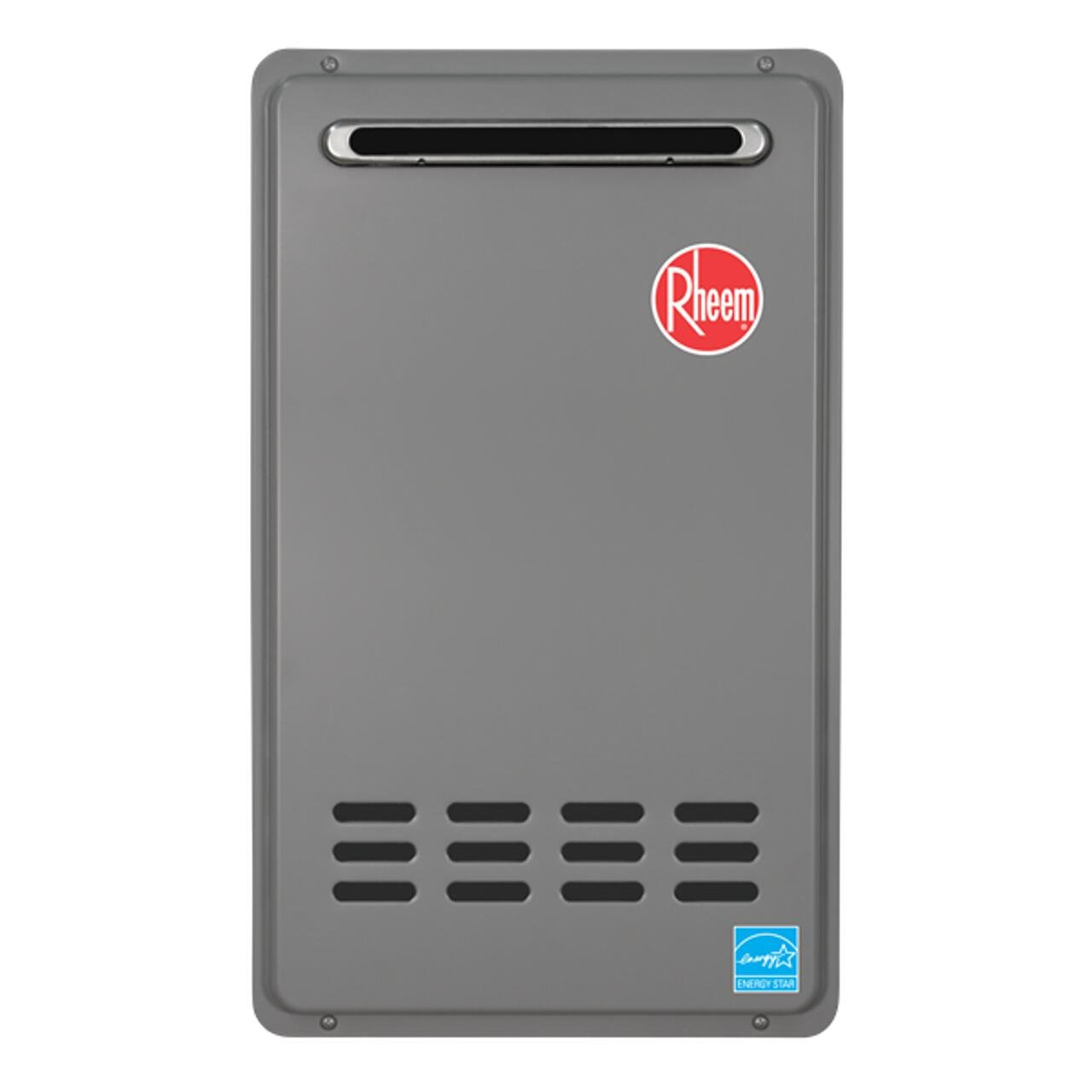 Rheem RTG-64XLN 6.4 GPM Outdoor Tankless Natural Gas Water Heater