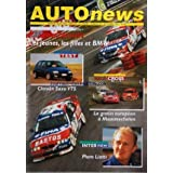 AUTO NEWS [No 57] du 01/09/1996 - 24 HEURES FRANCORCHAMPS - LES JEUNES - LES FILLES ET BMW - CITROEN SAXO VTS...