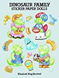 img - for Dinosaur Family Sticker Paper Dolls (Dover Paper Dolls) book / textbook / text book