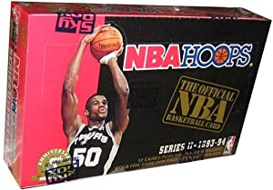 93/94 1993/1994 Skybox Hoops Series 2 Basketball Cards Box
