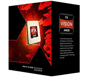 AMD FX8320 Black Edition 8 Core (3.5/4.0GHz, 8MB Level 3 Cache, 8MB Level 2 Cache, Socket AM3+, 125W, Retail Boxed)