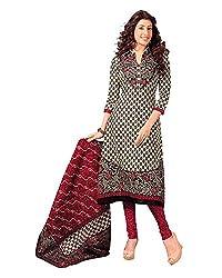 SalwarSaloon Women Salwar Suit Dupatta Cotton Dress Material(sgh 834_FO_Multi-Coloured)