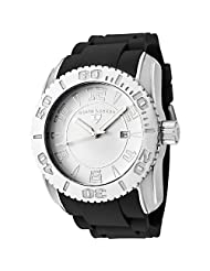 Swiss Legend Men's 20068-02 Commander Collection Stainless Steel White Dial Watch
