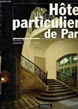 img - for Hotels particuliers de Paris (French Edition) book / textbook / text book