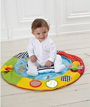 ELC BUSY BABY PAT MAT PLAY MAT FILL WITH WATER MULTI | eBay