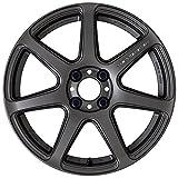 【ホンダ フィット(GK5 RS)2013~】 ホイール:WORK エモーション T7R_マットカーボン 7.0-17 4/100 タイヤ:FALKEN ZIEX ZE914F 205/40R17 (17インチ アルミホイールセット)