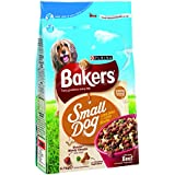 Bakers Complete Small Dog with Tasty Beef and Country Vegetables Dog Food 2.7 kg (Pack of 4)