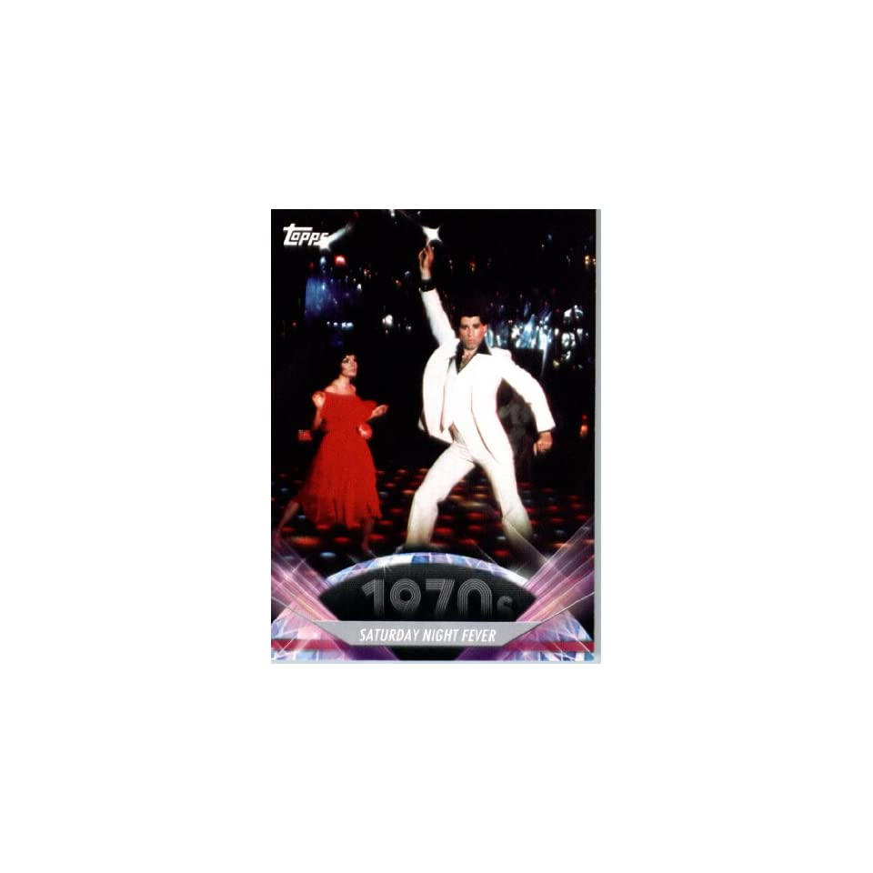 2011 Topps American Pie Card #129 Saturday Night Fever   ENCASED Trading Card