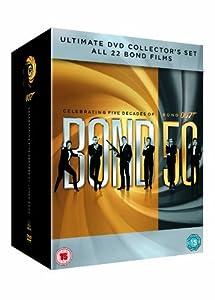 Bond 50 [22 Film]Dvd Collectio [Reino Unido]