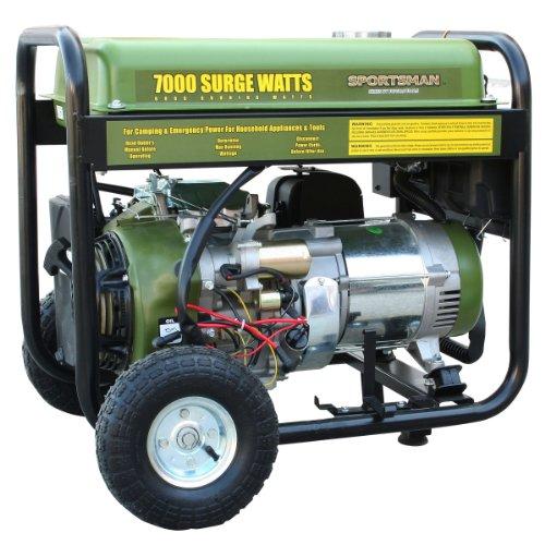 Sportsman GEN7000, 6000 Running Watts/7000 Starting Watts, Gas Powered Portable Generator (Propane Tanks 7 Gallon compare prices)