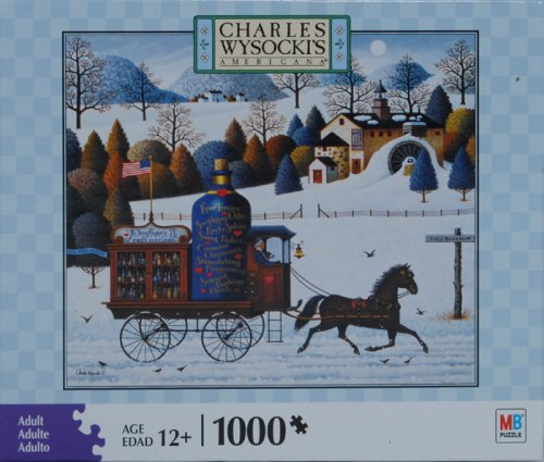 Cheap Hasbro Charles Wysocki Americana Series 1000 Piece Jigsaw Puzzle – Promises, Promises (B001E372N0)