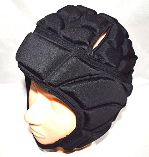 頭部の保護に ThankSmile ヘッドギア 衝撃吸収パッド入り 頭部サポーター 頭保護 頭部プロテクター ラグビーヘッドギア 各種スポーツ、怪我防止に (XL)