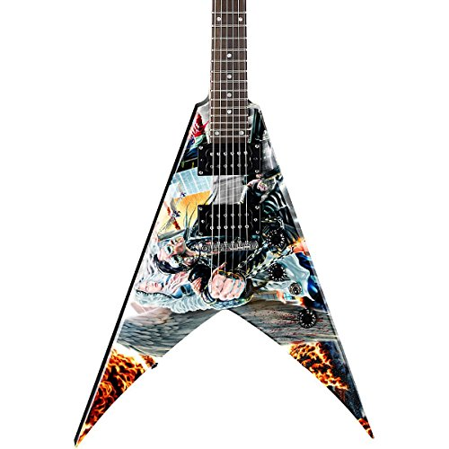 Dean V Dave Mustaine Guitar, United Abomination (Flying V Dean compare prices)