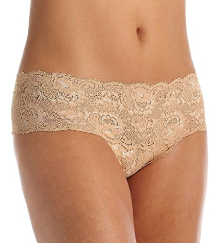Cosabella Women's Never Say Never Low Rise Hottie Hotpant Panty, Nude, Small/Medium