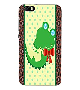 PrintDhaba Cartoon D-5808 Back Case Cover for HUAWEI HONOR 4X (Multi-Coloured)