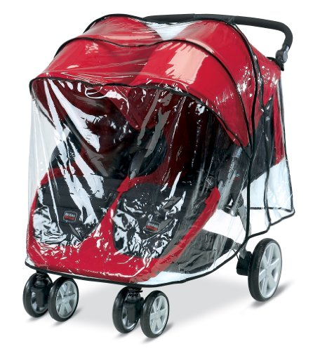 Britax B-Agile Double Stroller Rain Cover by Britax
