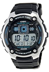 Casio General Men's Watches Sporty Digital AE-2000W-1AVDF - WW