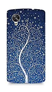 Amez designer printed 3d premium high quality back case cover for LG Nexus 5 (Christmas Tree )