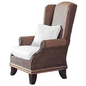Amazon Padma s Plantation Bali Rattan Wing Chair