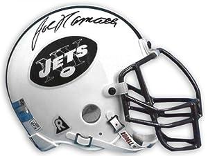 Joe Namath New York Jets Autographed Throwback Riddell Mini Helmet - Memories -... by Sports Memorabilia