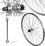 700c Alloy QR Quick Release Hybrid Bike Commuting REAR Wheel Shimano 8 Freehub