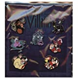 Disney Pin - Villains - Mini-pin Collection - Booster Set - Pin 78566