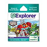 LeapFrog Explorer Transformers Rescue Bots Race to The Rescue Learning Game