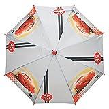Cars-Paraguas con diseño de mariposas, color gris