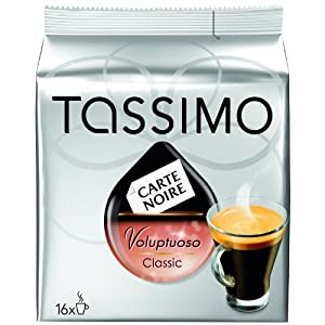 Tassimo Carte Noire Voluptuoso Classic T-Discs by Tassimo