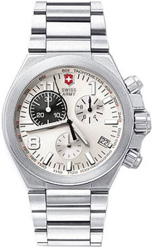 Victorinox Swiss Army Men's 241161 Convoy Titanium Chronograph Silver Dial Watch