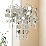 Chandelier Light Shade Modern Design Lightshade Metallic Silverby Payless Shop