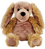 Aroma Home - Peluche Bouillotte micro onde - coussin amovible- Petit Modele - Spaniel
