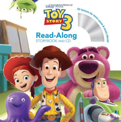 Toy Story 3 Read-Along [With Paperback Book]