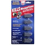 Mosquito Torpedo 5-Pack 300 Day Control Kills Mosquitoes In Standing Water Where They Breed