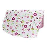 [19*27 Inch] Lovely Waterproof Breathable Baby Urine Pad-Flower and Butterfly