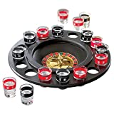 HUJI Roulette Glass Shots Drinking Game Fun Adult Party Gift Cups Drinks Birthday Fun (1 SET, Roulette Glass Shots)