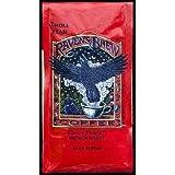 Raven's Brew Whole Bean Ebony Pearls, French Roast 12-Ounce Bag