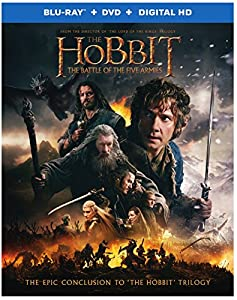 The Hobbit: The Battle of the Five Armies (Blu-ray + DVD + Digital HD UltraViolet Combo Pack) from Warner Home Video