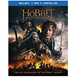 The Hobbit: The Battle of the Five Armies [Blu-ray + DVD + Digital HD]