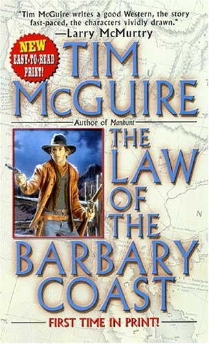 Image for The Law of the Barbary Coast (Leisure Historical Fiction)