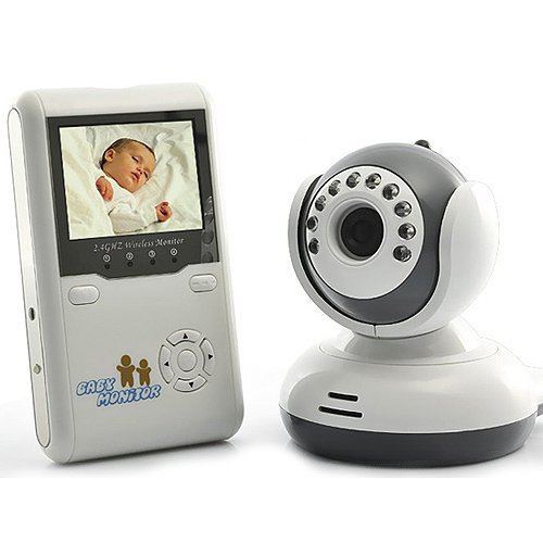 Generic 2.5 Inch Wireless Baby Monitor 2-Way Talk Digital Babysitter Video Baby Camera Nanny Security With Night Vision