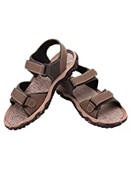 FBT Men's 1635 Green Casual Sandals