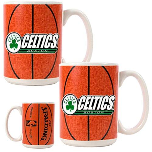 NBA Two Piece Gameball Coffee Mug Set