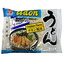 Myojo Udon Noddle, Chicken, 7.22-Ounce (Pack of 12)