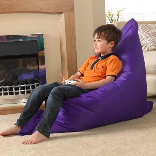 Kids BAZ BAG® Beanbag Chair PURPLE - Indoor & Outdoor Kids Bean Bags by Bean Bag Bazaar®