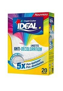 Ideal - 33617120 - Lingettes Anti-Décoloration - Lot de 2