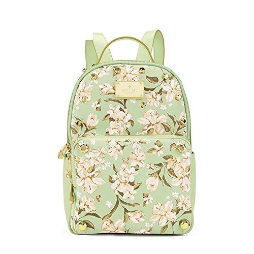 Mme sac à bandoulière/Institut coréen de vent schoolbag/Loisirs rivet Backpack