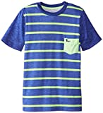 American Hawk Big Boys' Striped Pocket T-Shirt
